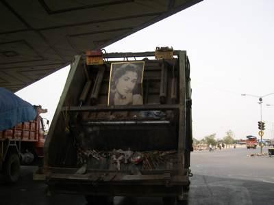 Garbage Bollywood style.JPG